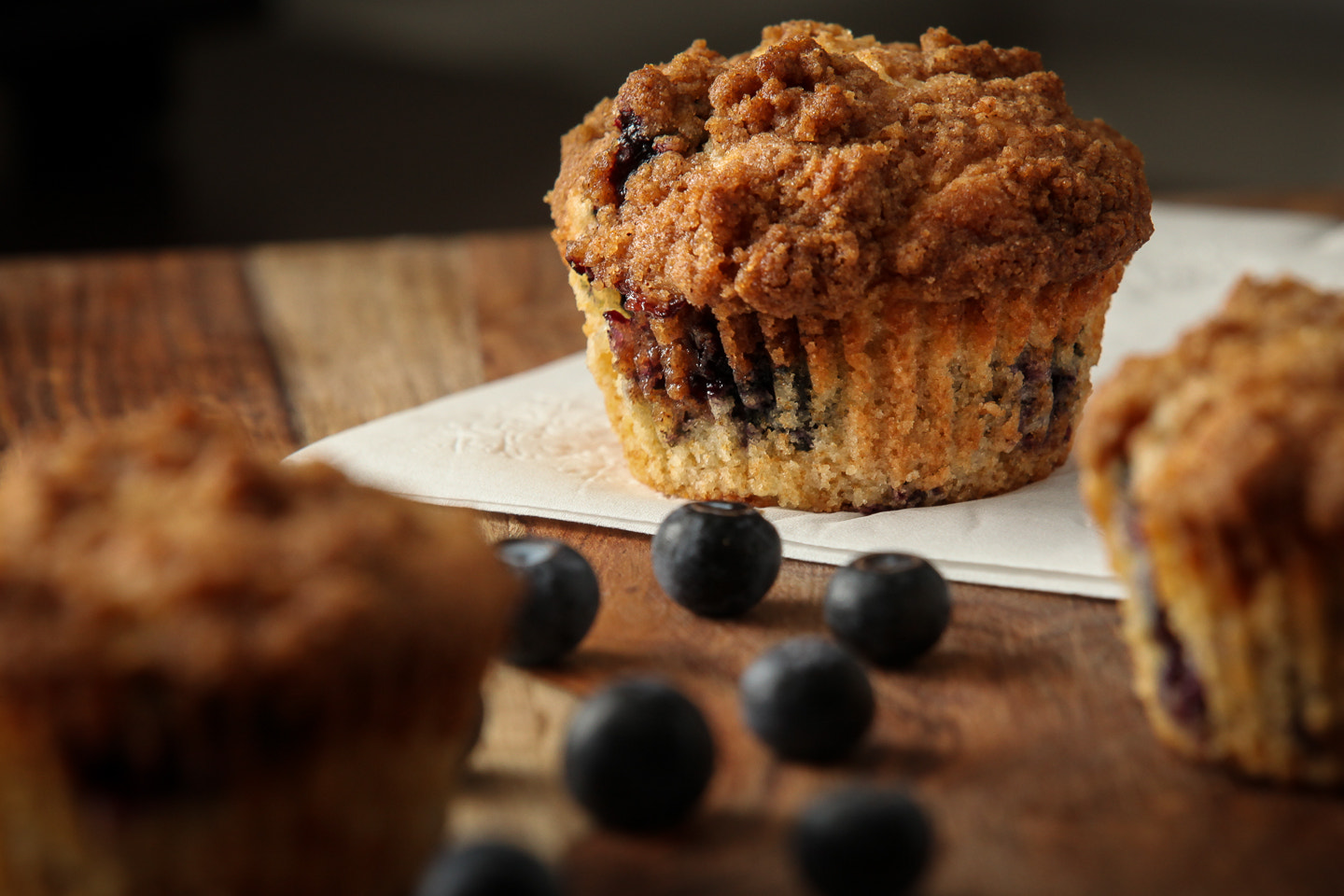 Photograph Blueberry Muffin by thepz on 500px