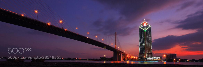 Photograph Rama9 Bridge by Vichaya Pop on 500px