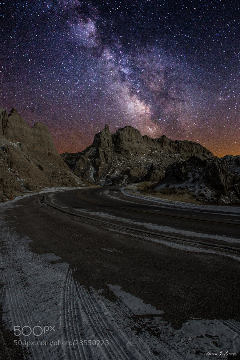 Photograph Ride across the Badlands by Aaron J. Groen on 500px