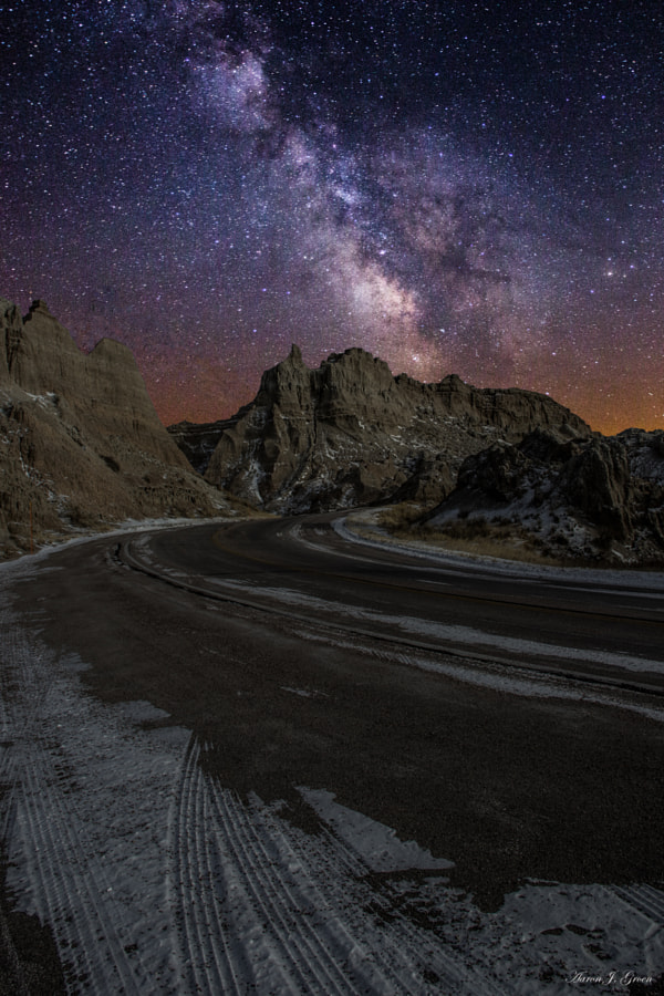 Ride across the Badlands by Aaron J. Groen on 500px.com