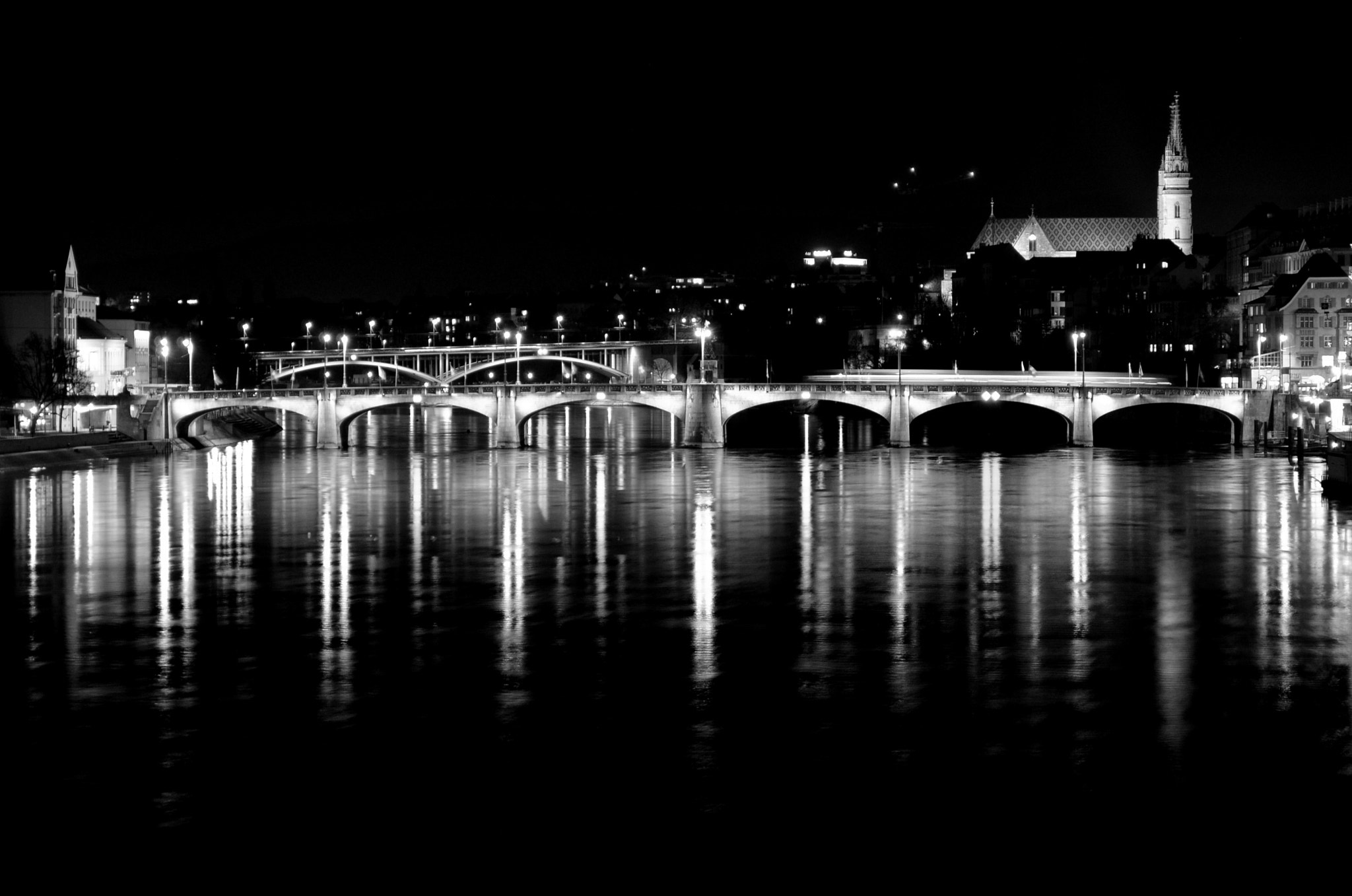 Photograph Basel by night by Anasuya Mandal on 500px