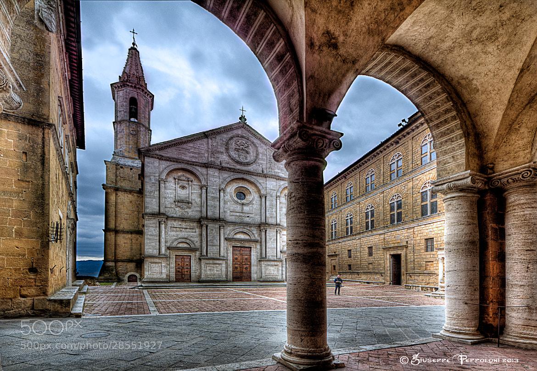 Photograph Duomo di Pienza (SI) by Giuseppe  Peppoloni on 500px