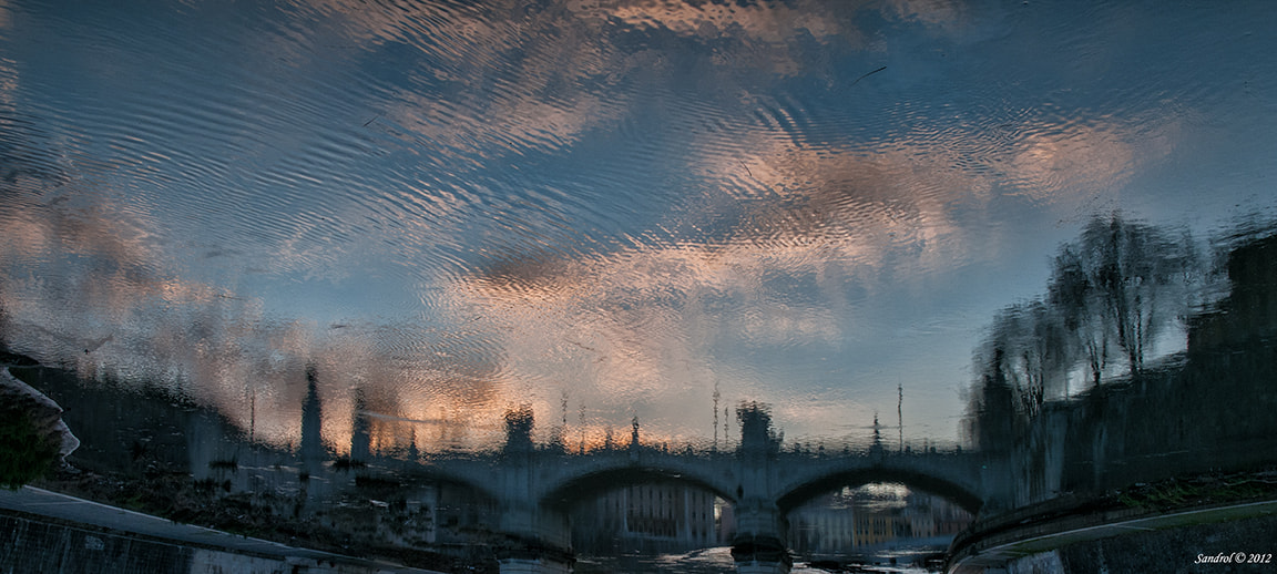 Photograph Reflected in the Tiber by Sandro L. on 500px