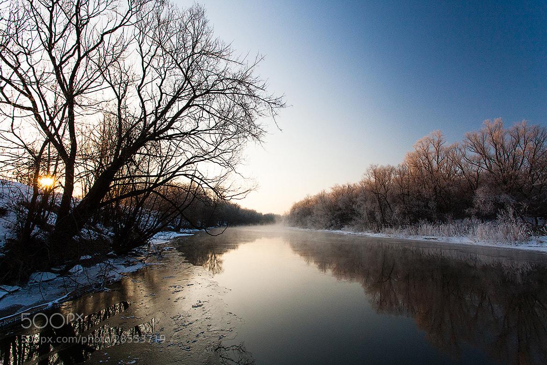 Photograph Tsna River. February. by Denis Belyaev on 500px