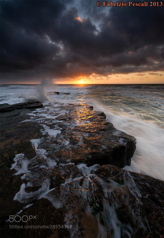 Photograph Praia Azul Sunset - www.fabriziopescali.com  by Fabrizio Pescali on 500px