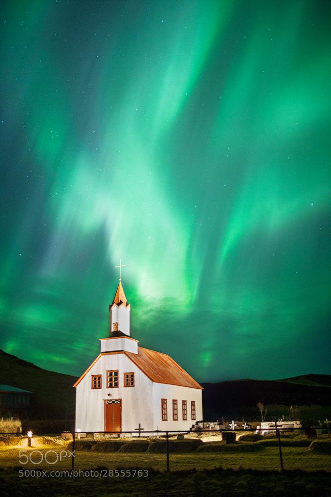 Photograph Aurora Borealis, Vik, Iceland by Simon Byrne on 500px