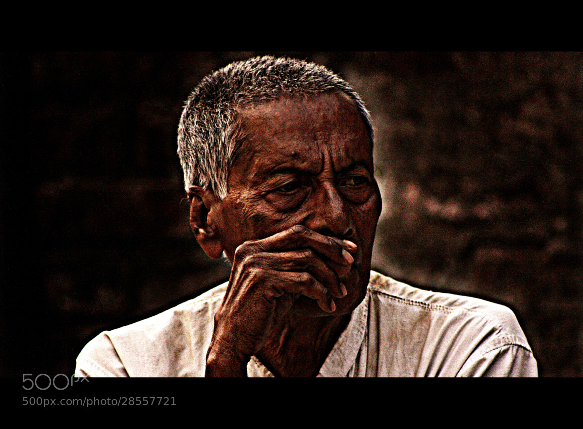 Photograph Old man by Pranab Ghosh on 500px
