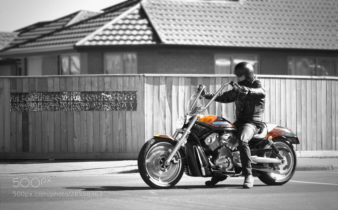 Photograph The biker by B K on 500px