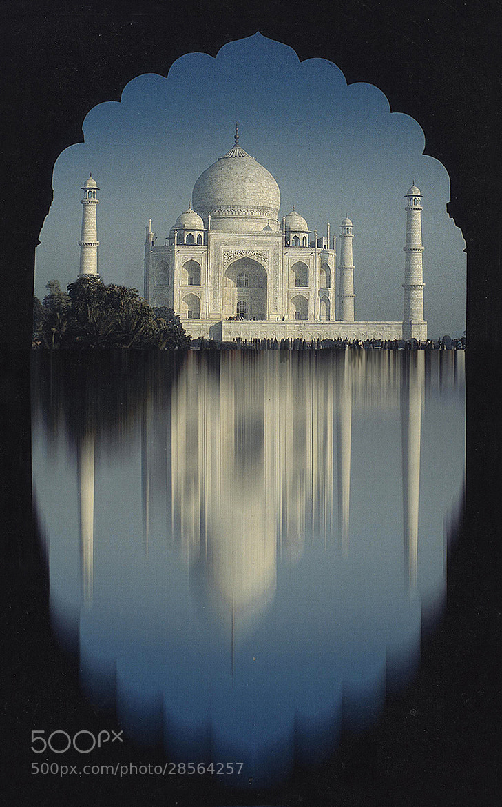 Photograph Taj Mahal by Ronald Coulter on 500px