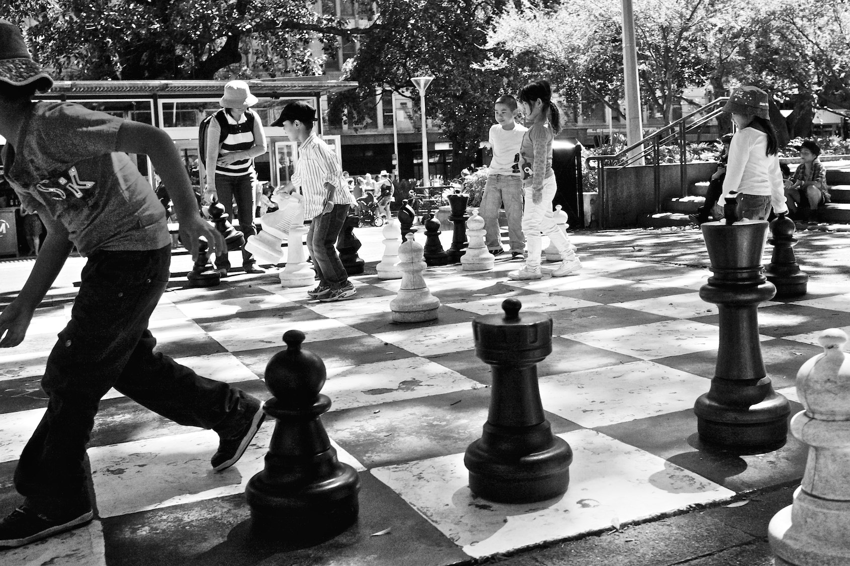 Photograph Chess Time by Scott Kim on 500px