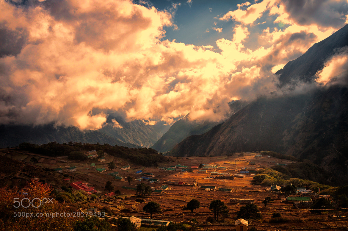 Photograph The Village In The Clouds by mcbain_s on 500px