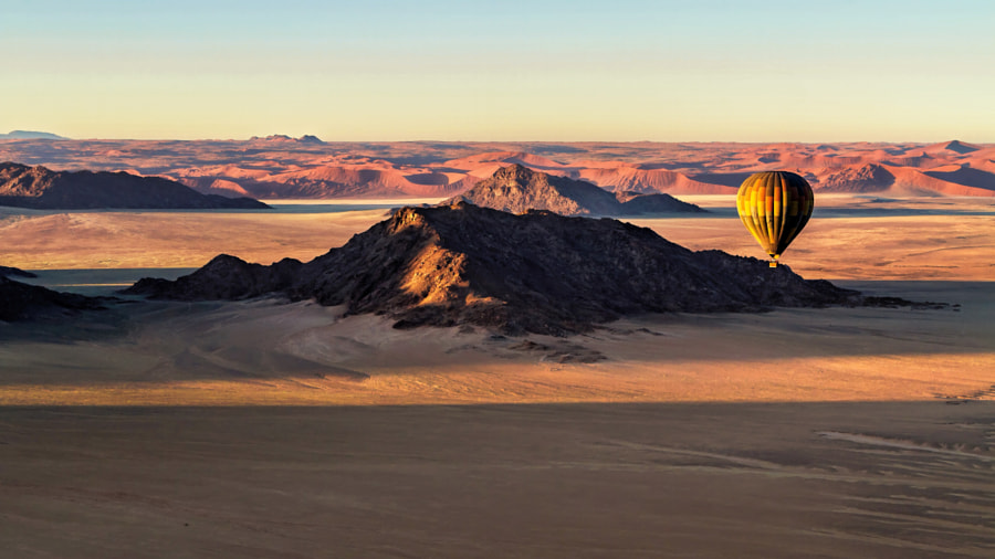 Desert Ballooning in Namibia by Michael Voss on 500px.com