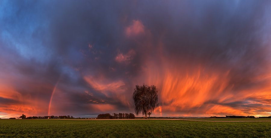 sky in flames by Birdies Landscapes on 500px.com