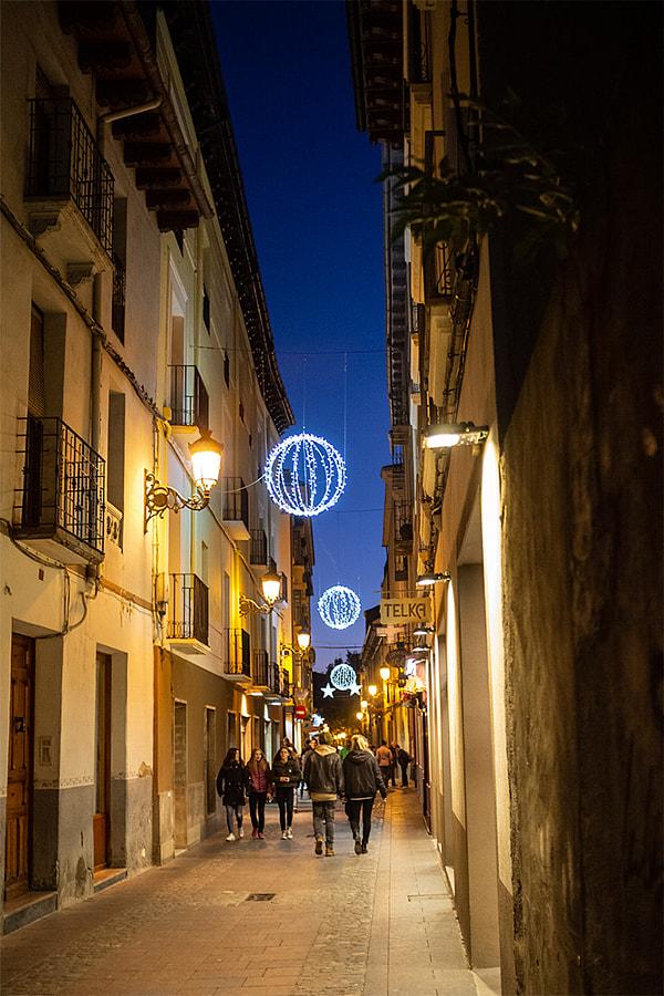Street at Christmas by Ana V. on 500px.com