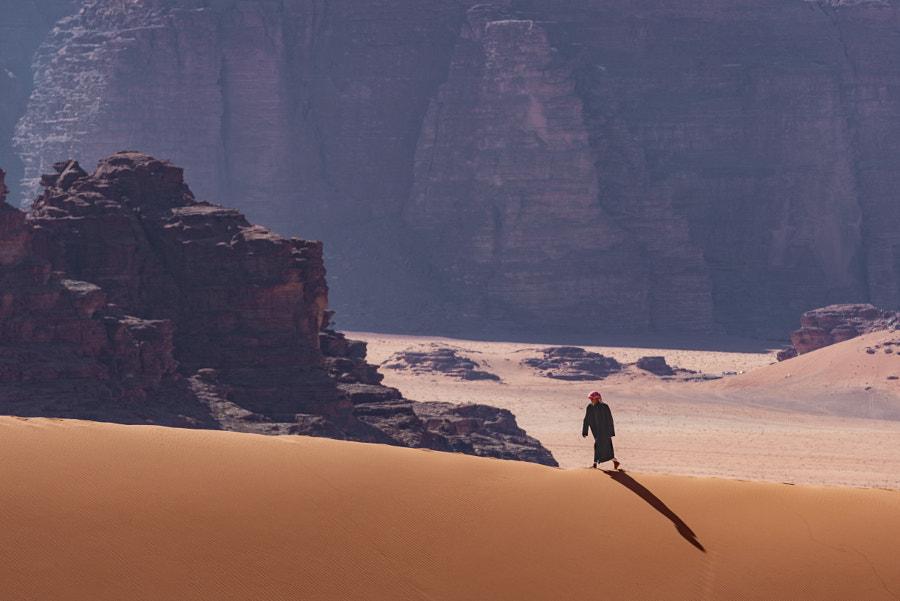 The walking beduin by Razvan Iliescu on 500px.com