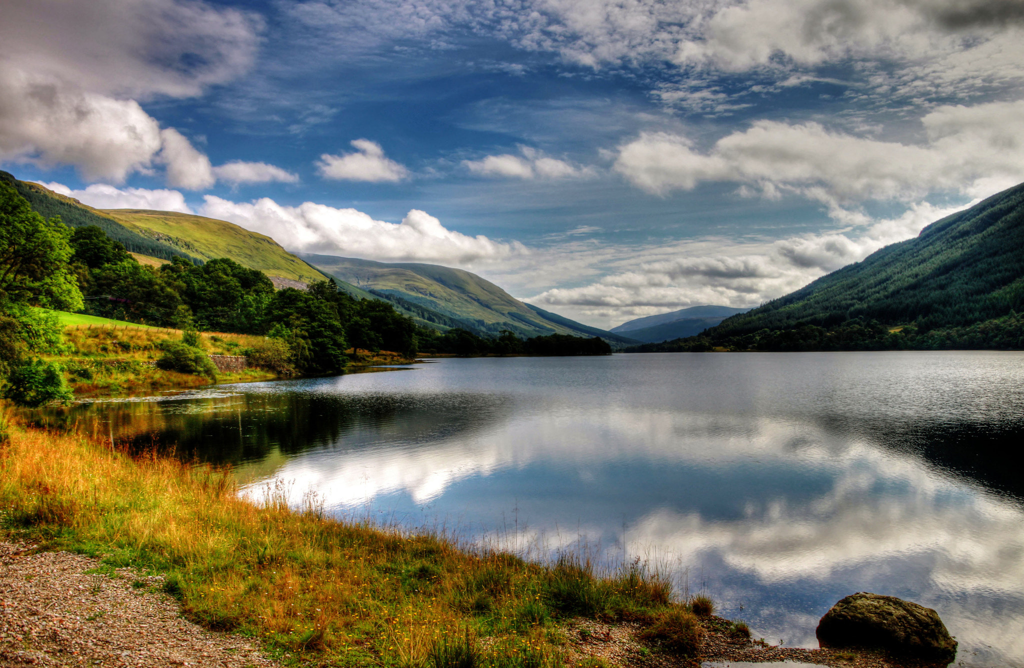 Photograph Loch voil by Hilda Murray on 500px