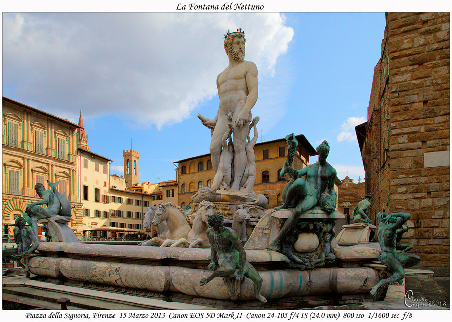 Photograph La fontana di Nettuno by Claudio Cugini on 500px