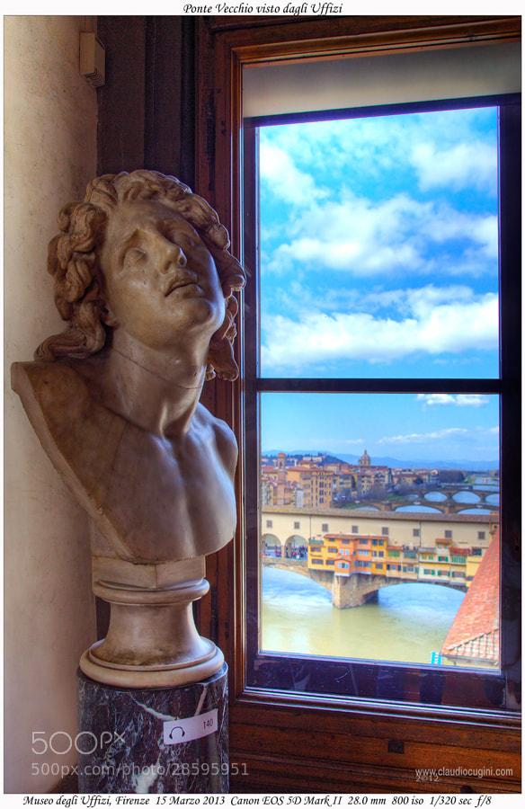 Photograph Ponte Vecchio visto dagli Uffizi by Claudio Cugini on 500px