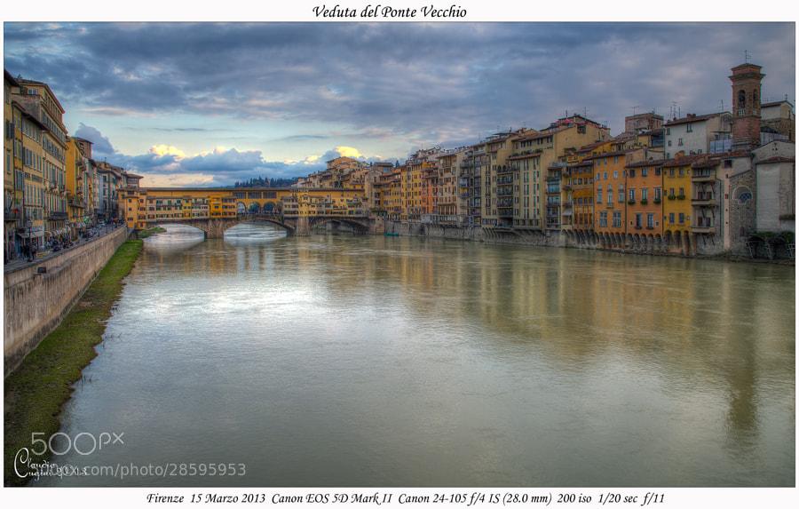 Photograph Veduta di Ponte Vecchio by Claudio Cugini on 500px