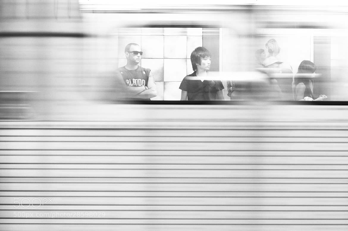 Photograph A Moment on the Subway * 4073 by Mark Shannon on 500px