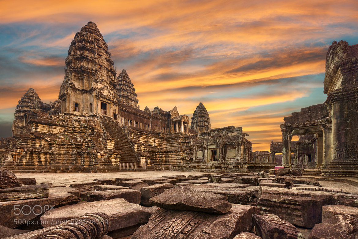 Photograph The Ancient Angkor Wat by Danny Xeero on 500px