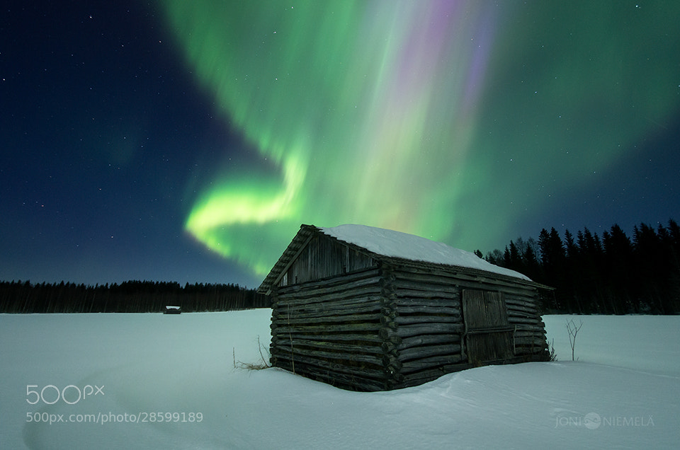 Photograph Northern Lights by Joni Niemelä on 500px