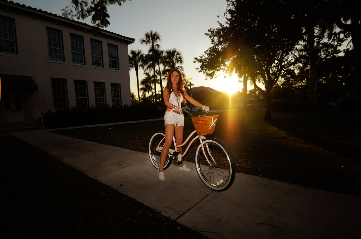 Photograph Delray Bike Girl by Jan Freire on 500px