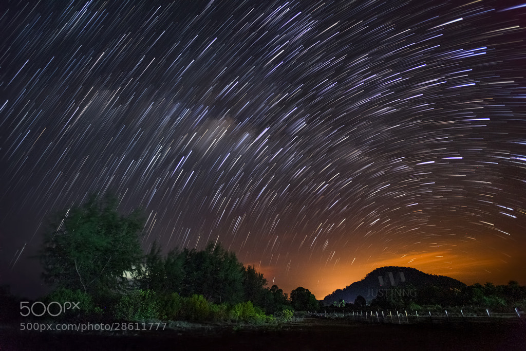 Photograph Star Trails by Justin Ng on 500px