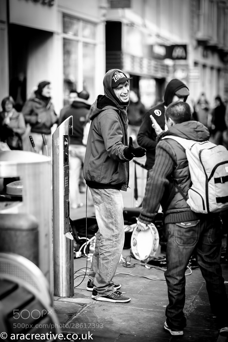 Photograph Busker Love by Adam Abbott on 500px