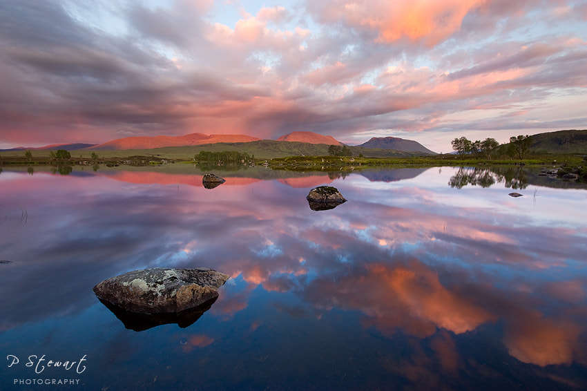 Photograph Rannoch Reflections by Philip Stewart on 500px