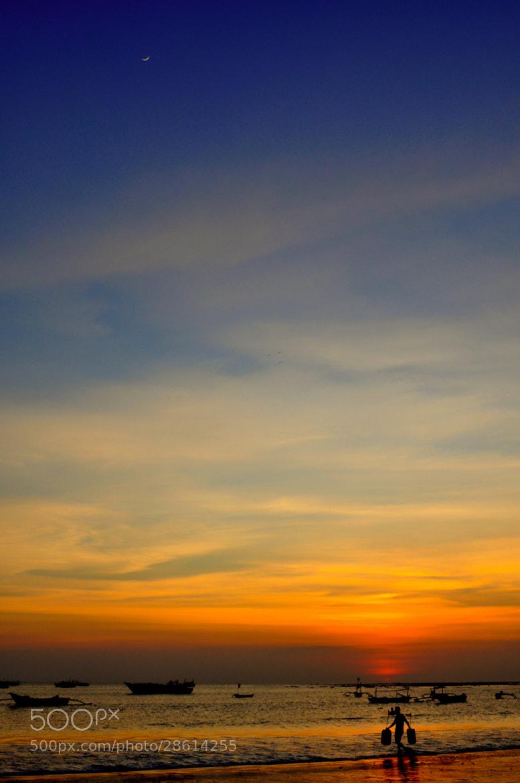 Photograph fishermen's village sunset by Julien Lee on 500px