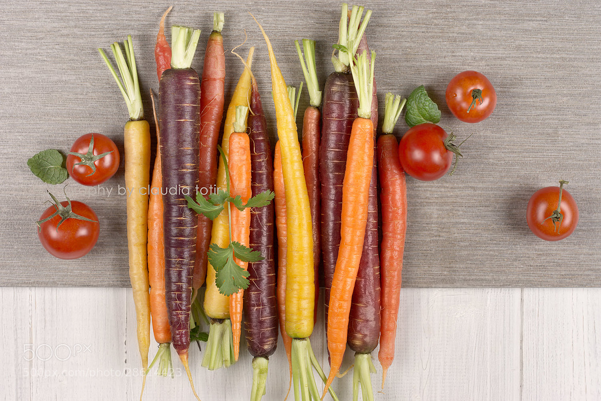 Photograph Rainbow Carrots by Claudia Totir on 500px