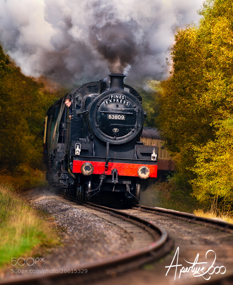 Photograph Steam Train by Colin Carter on 500px