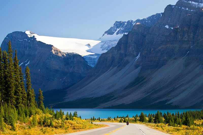 Photograph Bow Lake and Bow Glacier - Icefield Parkway - Alberta by Yannik Hay on 500px