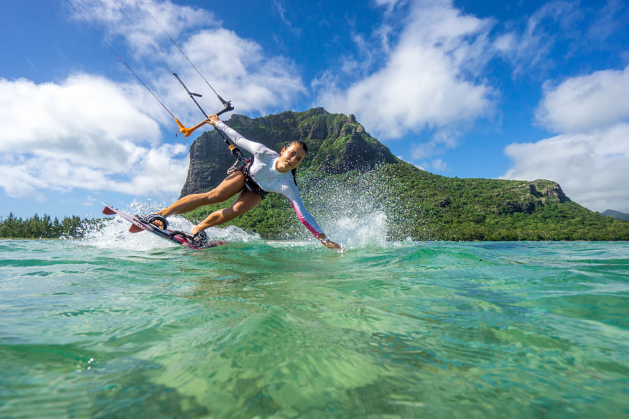 kiting in Mauritius by Alexey Aryutov on 500px.com
