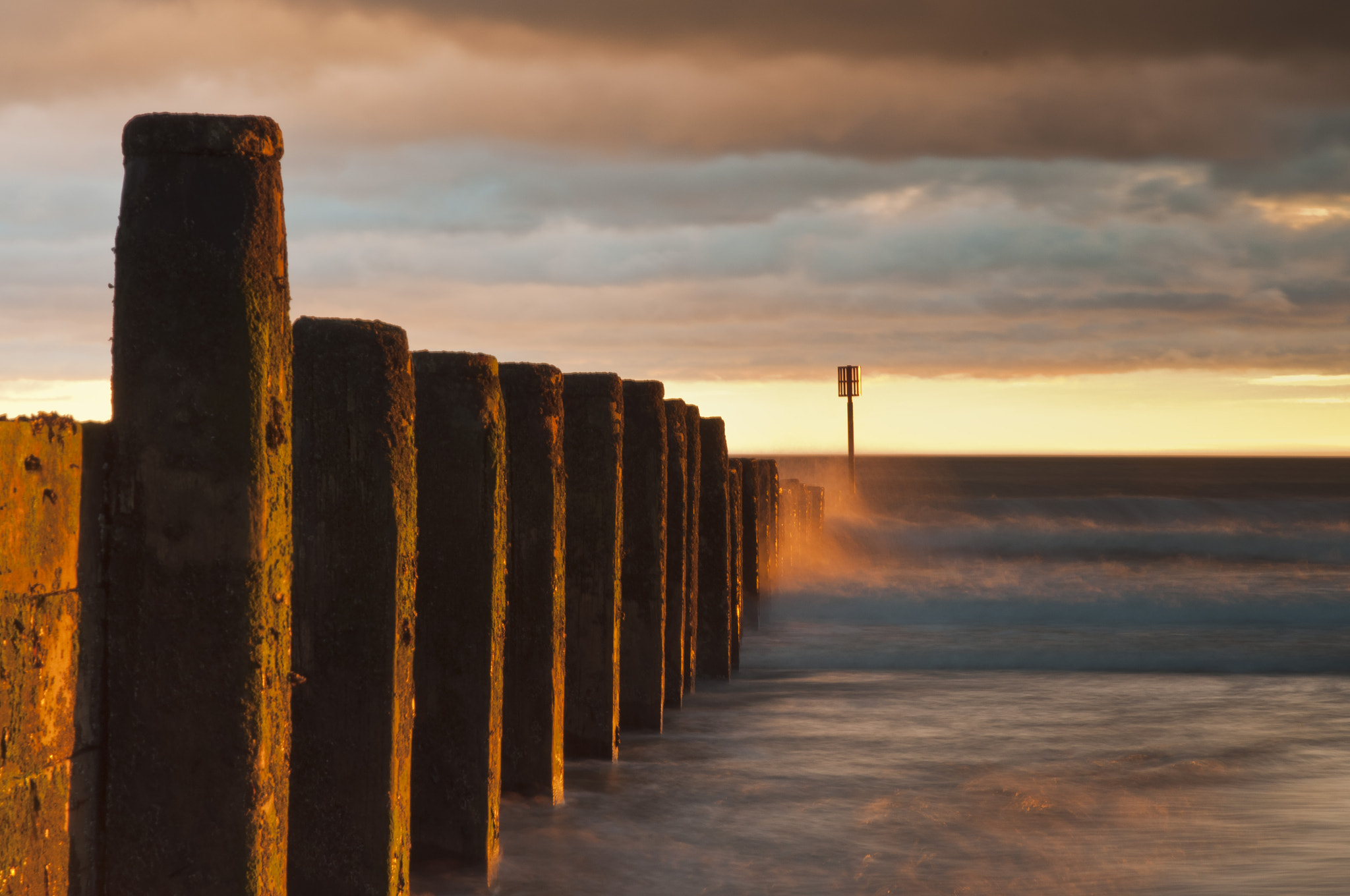 Photograph Blyth Groyne Sunrise by Phil Whittaker on 500px