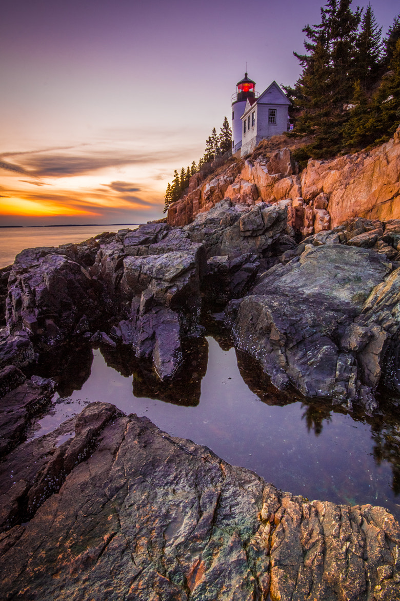 Photograph Bass Harbor Head Light House - Acadia National Park by Stephen Whitaker on 500px