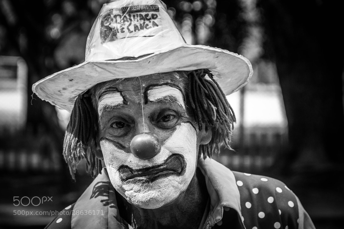 Photograph Sad clown by Vanius Roberto Bittencourt on 500px