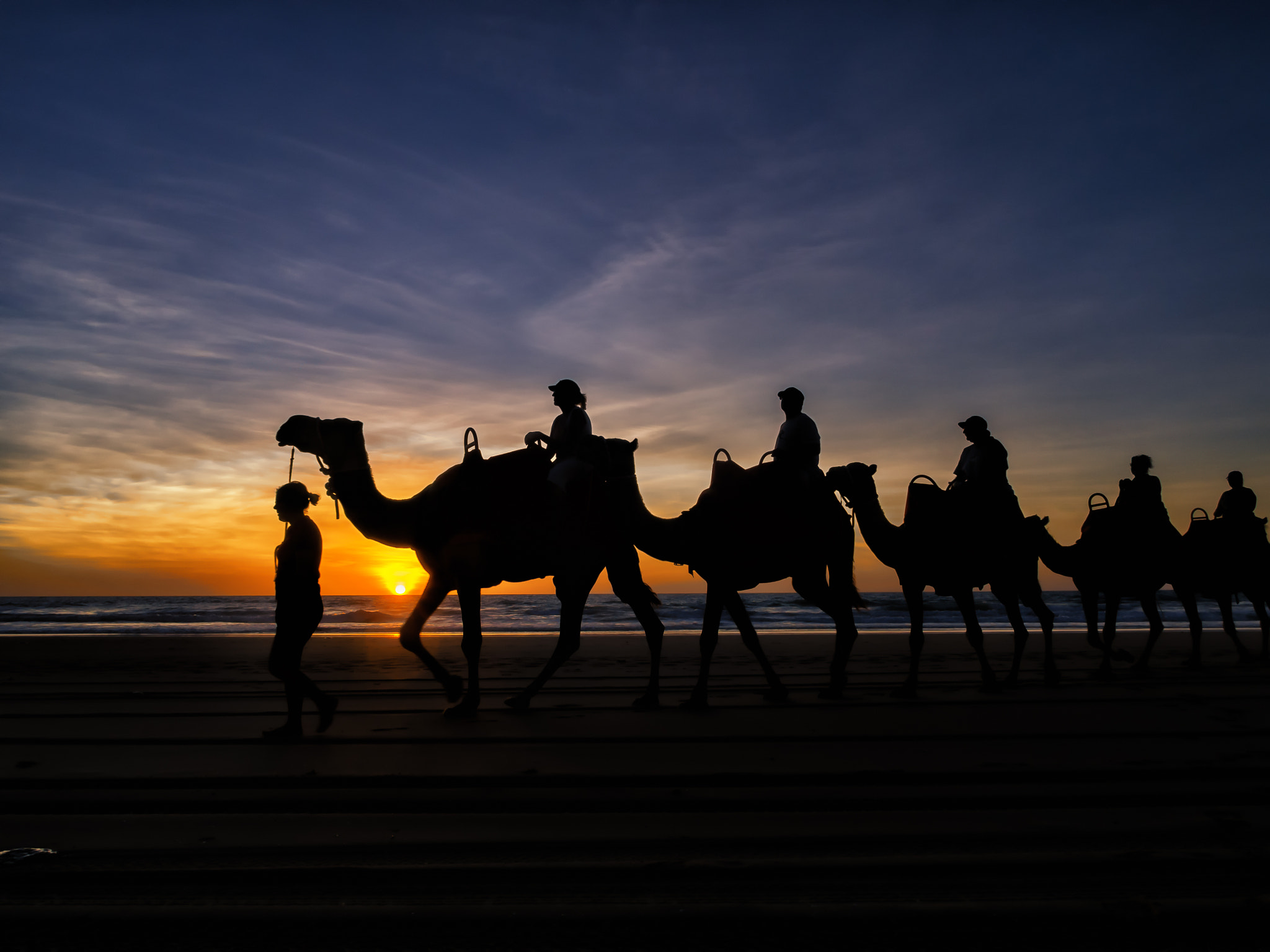 Photograph Sunset Ride in WA by PaulEmmingsPhotography  on 500px