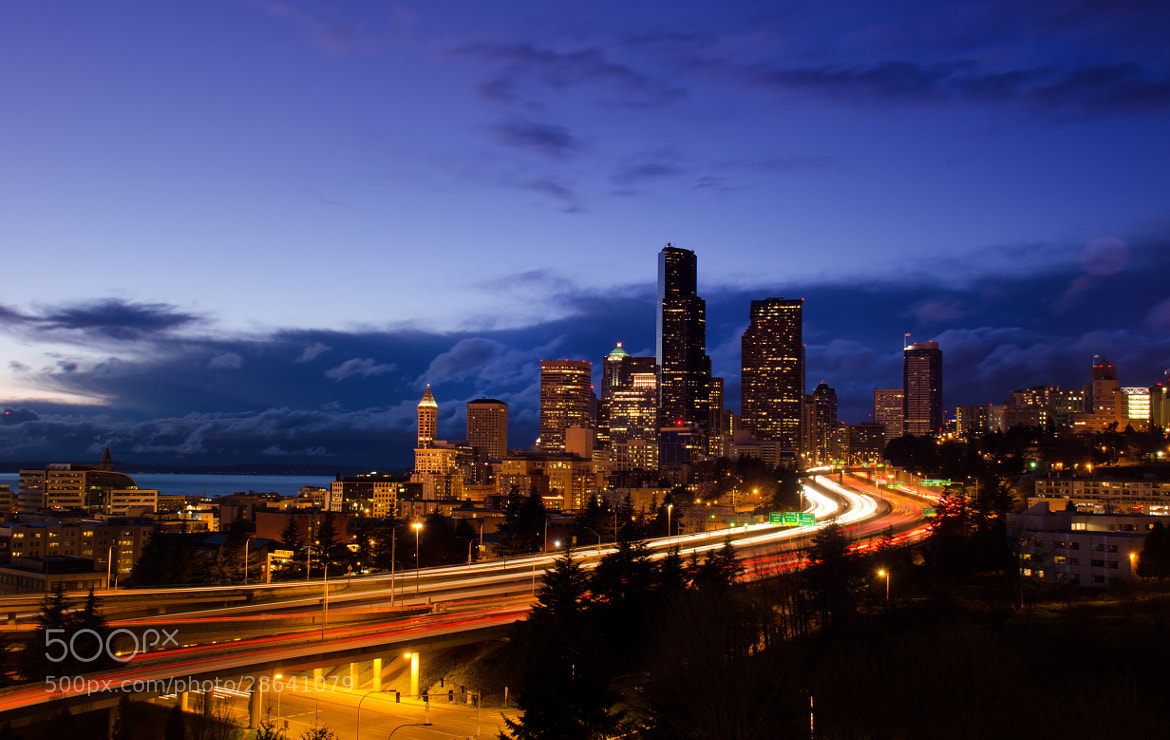 Photograph Traffic Through the City by Dan Goldberger on 500px