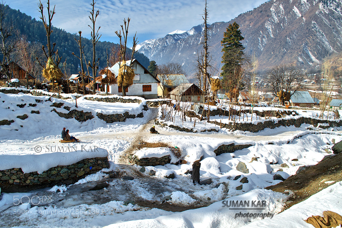 Photograph Snow valley by Suman Kar on 500px