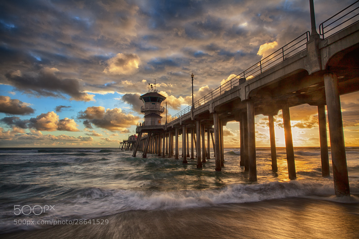 Photograph Huntington Beach by Andrew Bahr on 500px