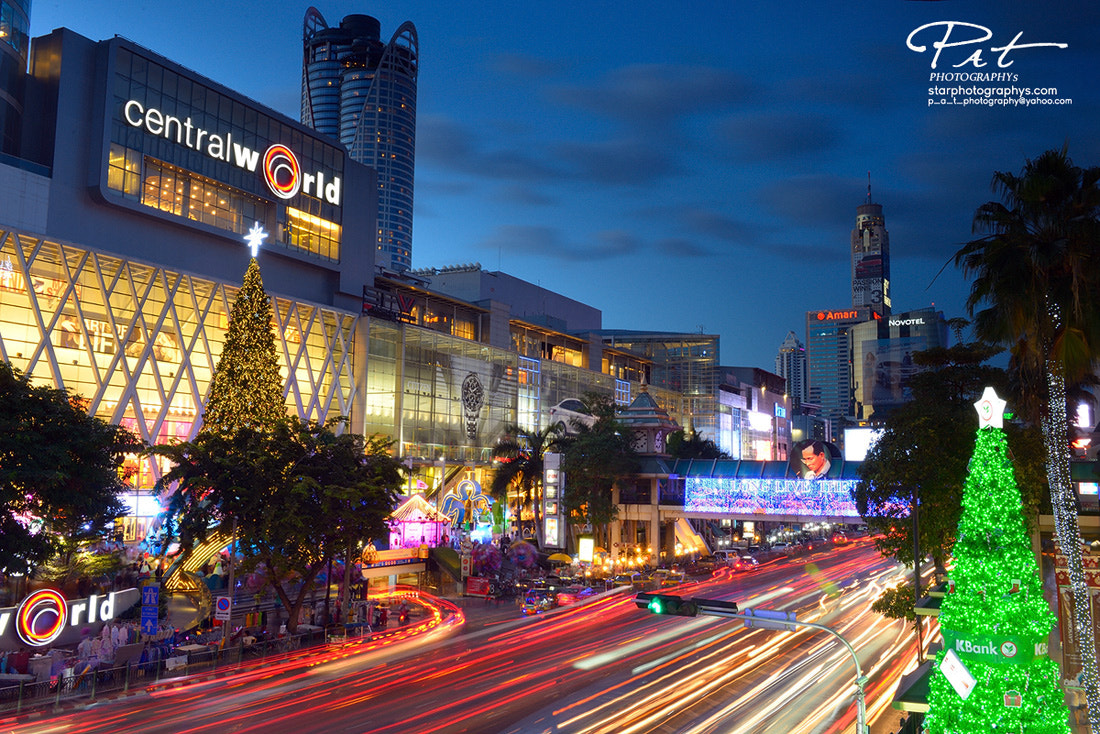 Photograph X' Mas at Central World by Pat Photographys on 500px