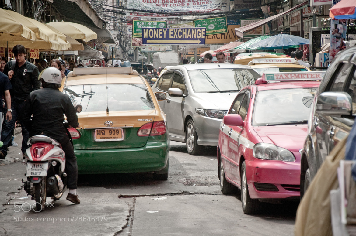 Photograph Traffic jam in bangkok by Nabil BACHIR-CHERIF on 500px