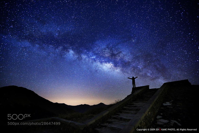 Photograph Embrace the Galaxy by LIU kane on 500px