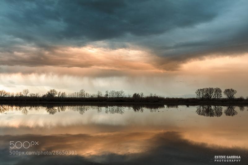 Photograph Blue rain by Esteve Garriga on 500px