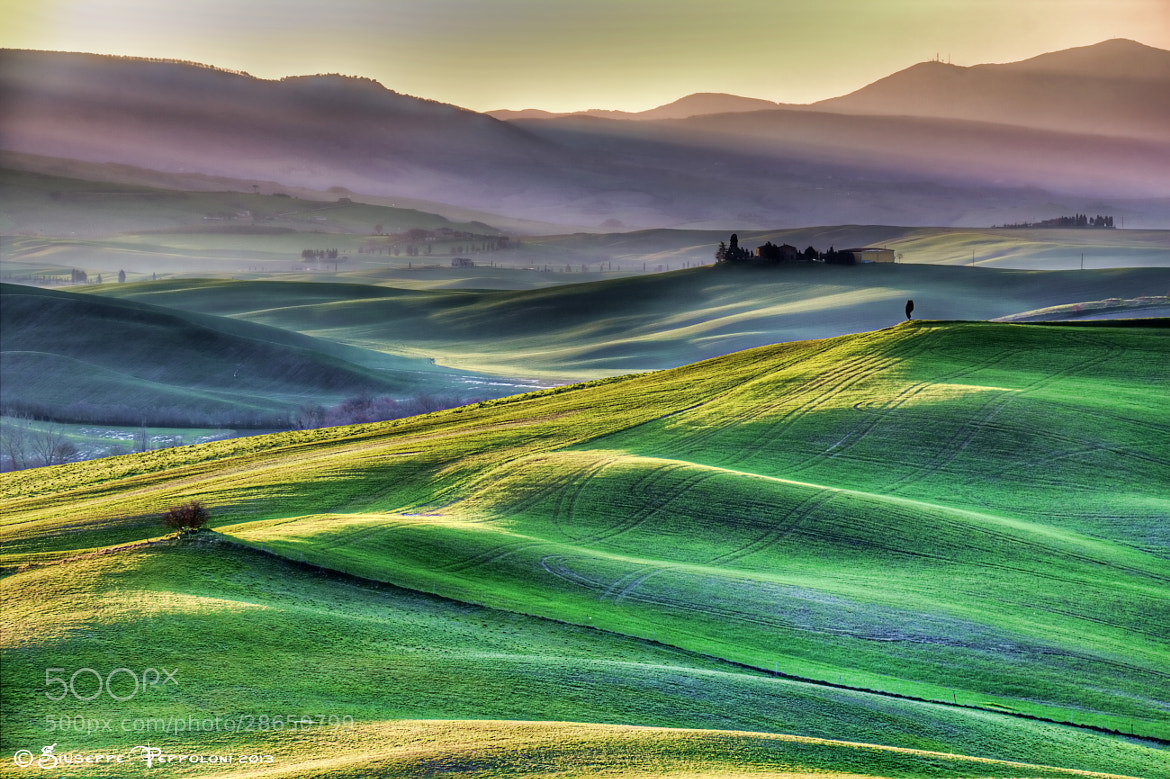 Photograph Tuscan hill by Giuseppe  Peppoloni on 500px