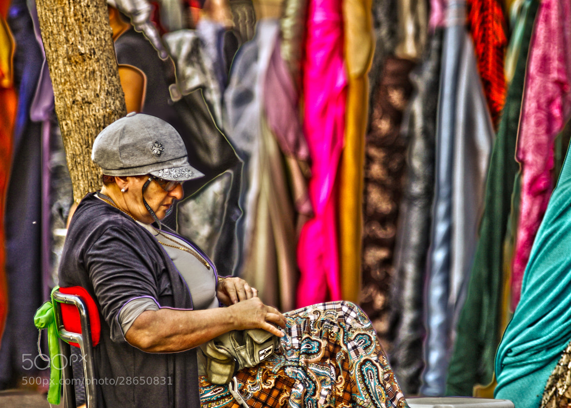 Photograph Fabric Market by  Michal De-porto on 500px