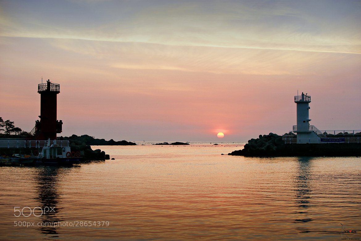 Photograph Sunrising Between Lighthouse by RYNTEN  on 500px