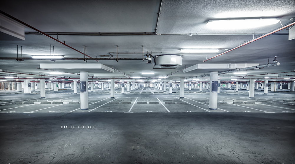 Photograph Underground car park by Daniel Pintaric on 500px
